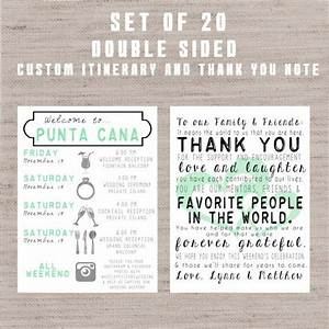set of 20 destination wedding welcome bag letters and With destination wedding welcome letter template