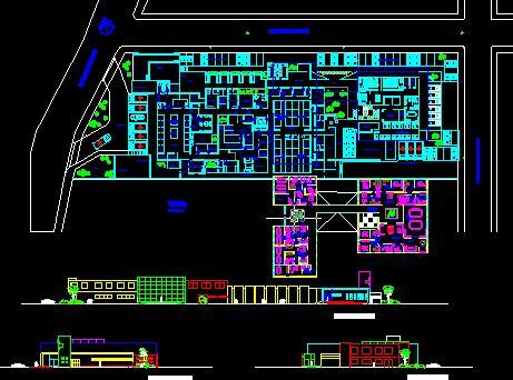hospital  dwg block  autocad designs cad