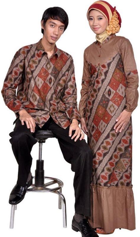 model baju muslim batik pesta modis atasan untuk pria wanita dan anak wez ewez