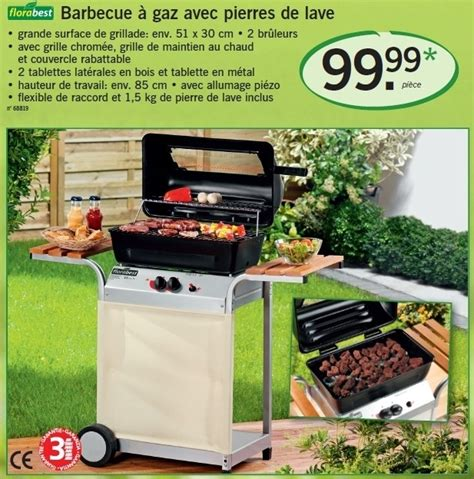 barbecue gaz a de lave lidl promotion barbecue 224 gaz avec pierres de lave flora best barbecue 224 gaz disponible