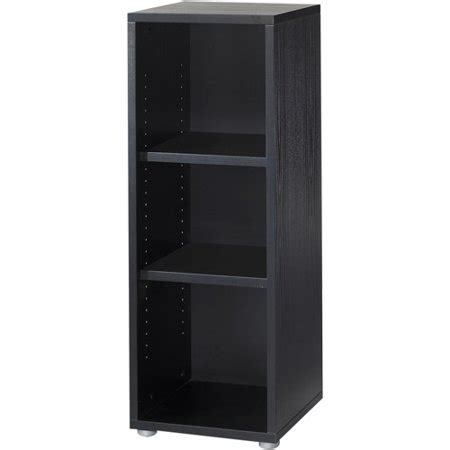 walmart black bookshelf tvilum fairfax 2 shelf bookcase black walmart