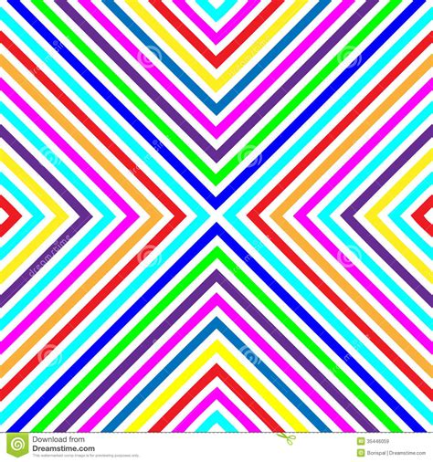 Varicolored Squares Lines Seamless Pattern 2 Stock