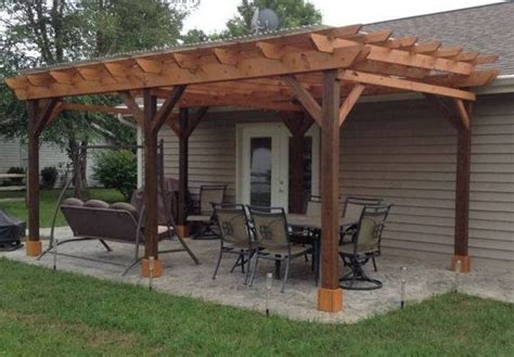 covered pergola plans   patio wood design covered deck diy decks design