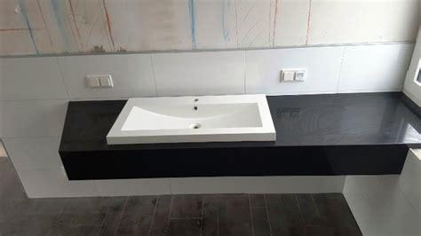 Waschtisch Granit Mit Unterschrank by Z 252 Rich Nero Assoluto Granit Waschtische