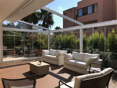 giardino d inverno in terrazza giardino d inverno su terrazzo chiusure laterali in vetro