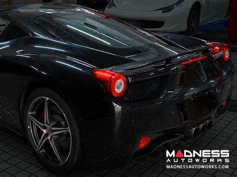 Used 2010 ferrari 458 italia with rwd, keyless entry, fog lights, spoiler, leather seats, bucket seats, alloy wheels, 20 inch wheels. Ferrari 458 Italia Base Rear Trunk Spoiler - Carbon Fiber ...