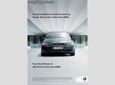 Rétrospective pub le combat sans fin entre Audi et BMW