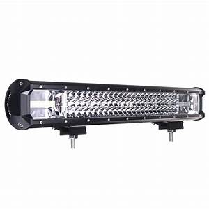 22 Inch 648w Led Light Bar Flood Spot Combo Beam Driving Lamp Car Truck Offroad