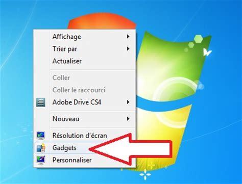 afficher bureau windows 7 windows 7 comment afficher le bureau