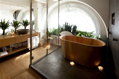 Modern Japanese Style Bathroom