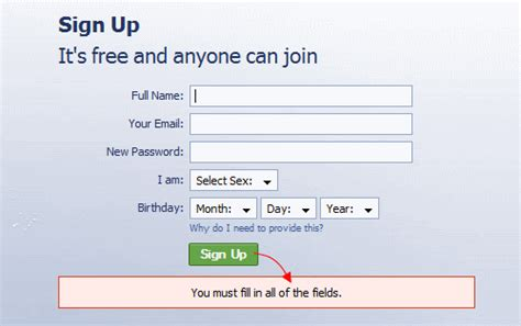 forms or don t required fields if all are