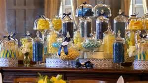 Yellow Blue Candy Bar