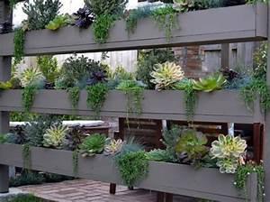 Jardinière Brise Vue : quand le brise vue naturel adopte l aspect d un mur v g tal ~ Premium-room.com Idées de Décoration