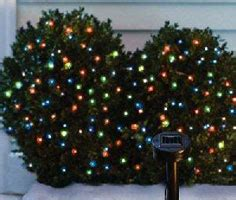 overview of different types of solar powered christmas lights