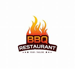 BBQ Restaurant Logo & Business Card Template - The Design Love