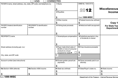 1099 Form 2012 Printable by Best 1099 Misc Form Template Pictures Gt Gt 1099 Form