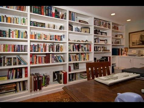 Ideas For Floor To Ceiling Bookshelves Youtube