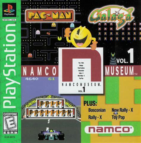 Retro Game Of The Week Namco Museum Vol 1 Pixlbit