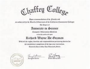 RichardDeGuzman.com | Chaffey College Associate in Science ...