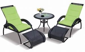 Repose Pied Salon : chaise de jardin avec repose pied inspiration pour jardin ~ Teatrodelosmanantiales.com Idées de Décoration