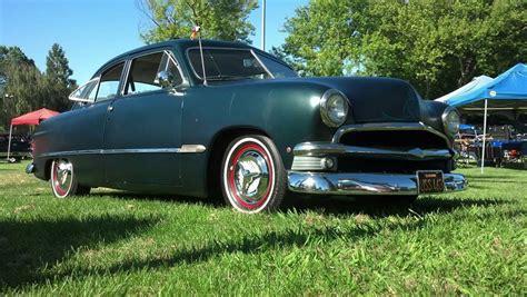 1950 Ford Shoebox Custom 2 Door Sedan Beautiful Ca Car V-8
