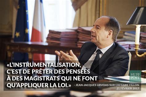 magistrats du si鑒e et du parquet affaire fillon le ministre de la justice jean jacques urvoas défend l 39 indépendance du parquet exclusive