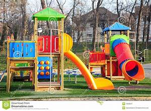 Kids playground stock image. Image of colors, adolescent ...