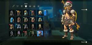 Zelda BOTW Barbarian Armor Set Location