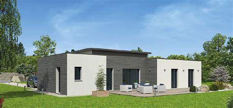 maisons ossature bois contemporaines de plain pied natitoa bacacier