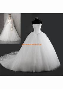 robe de mariee princesse bouffante tulle dentelle bustier With robe bustier tulle