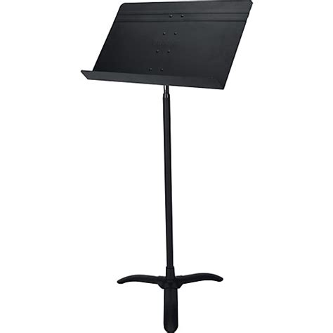 proline pl48 conductor orchestra sheet music stand black