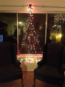 Have, A, Small, Apartment, And, Can, U0026, 39, T, Put, A, Tree, Anywhere, Make, Your, Own, With, Green, Christmas, Lights