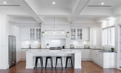Contemporary Kitchen Island Ideas - defining your traditional style the kitchen design centre