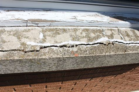 Concrete Window Sill by How To Repair A Concrete Window Sill House Fixin