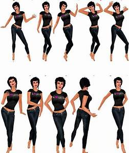 Image Gallery model poses for beginners