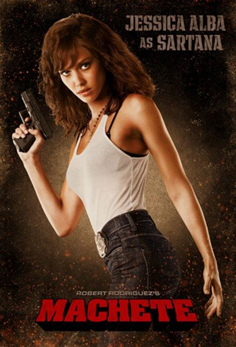 actress jessica in machete machete teaser trailer