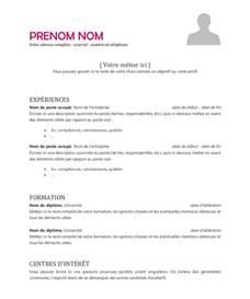 Un Resume In by Mod 232 Le De Cv International 224 T 233 L 233 Charger