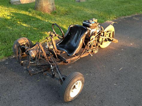 homemade truck go kart homemade 3 wheel go cart t rex car 4 speed transmission
