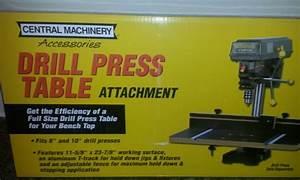 Ja: Drill press woodworking table