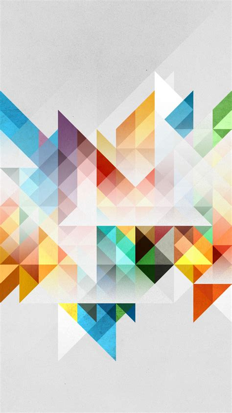 Abstract Geometric Shapes Background by Hd Background Abstraction Pattern Geometry Shapes Colorful