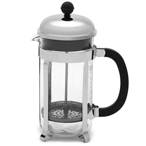 How many scoops of coffee per cup? Bodum Chambord French Press - Rostovs Coffee and Tea
