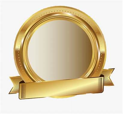 Seal Award Stamp Golden Sticker Medallion Cartoon