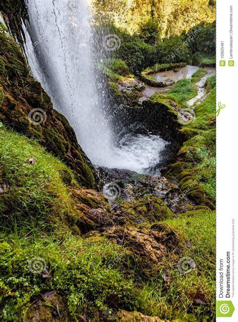 Edessa Waterfalls Greece Stock Image