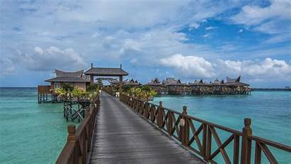 Pier Malaysia Beach Laptop Background Wallpapers Wallpapersdsc