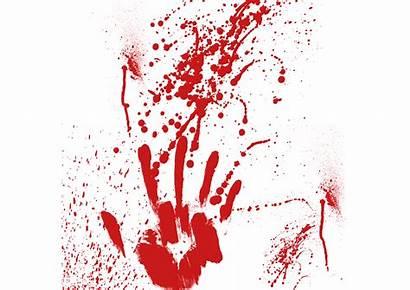 Blood Transparent Fingerprint Clipart Clip Finger Library