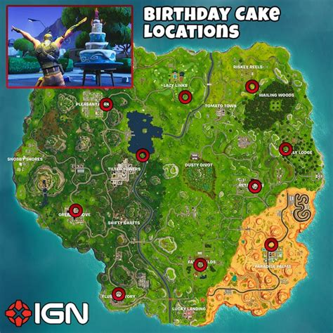 fortnite birthday challenges dance  front