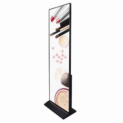 Display Cruz Indoor Screen Freestanding Led Close