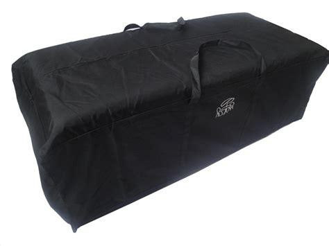 black cushion storage bag large