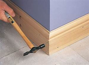 How to fit skirting board Ideas & Advice DIY at B&Q