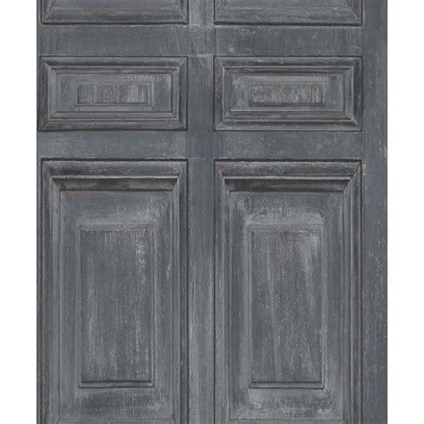 papier peint boiserie rustique grise koziel fr